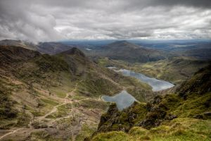 Views from Snowdon 4 by CharmingPhotography