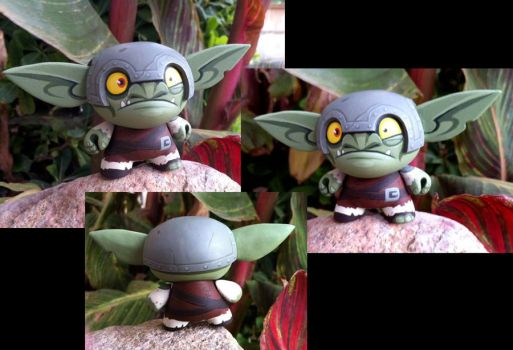 Twitchee the goblin dunny by Timbone