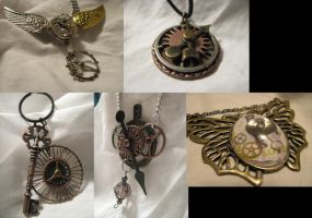 Steampunk Jewelery Now On EBAY by Lollipopdunce