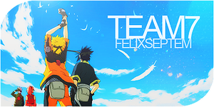 Firma -Naruto- Equipo Siete 02 by PJXD23