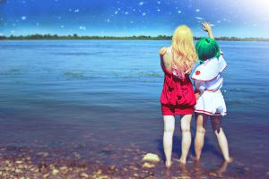 Macross Frontier - Look at the Sky by prototypeF