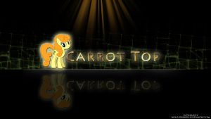 Carrot Top Reflection Wallpaper by LuGiAdriel14