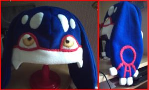 Kyogre hat by hoshi-kagami