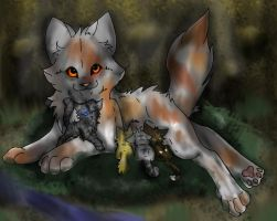 ..And This One is Cinderkit.. by Joker-Darling