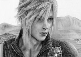 :FF VII AC CLOUD STRIFE: by Angelstorm-82