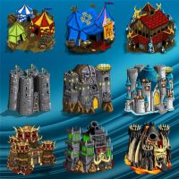Buildings for Warlords RTS by ThaneBobo