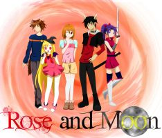 Rose and Moon Manga by Crafty-lil-vixen