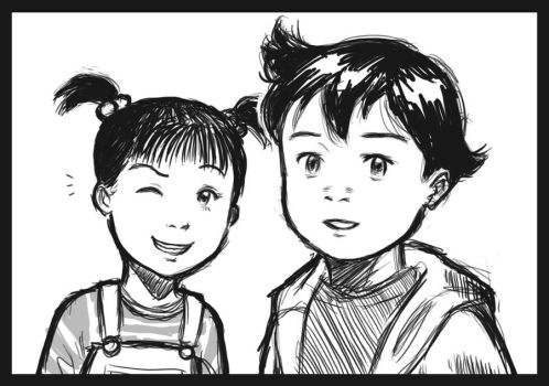 Astro and Uran by Jasrah