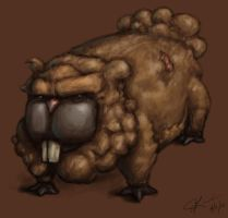 Bidoof by hammn