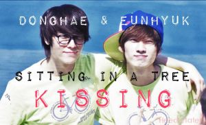 Donghae Eunhyuk Kissing by Heedictated
