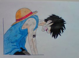 Luffy broken by Cady555