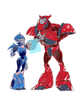 .:Arcee and Cliffjumper:. by JACKSPICERCHASE