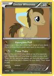 Doctor Whooves Pokemon card by The-Ketchi