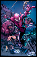 Avenging Spider-Man Colors by AlexRedfish