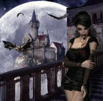 Vampires Castel by sweetpoison67
