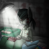 Operation (Commission) + Speedpaint by ChiakiTasso