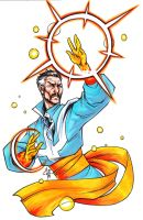 Doctor Strange by MelUran
