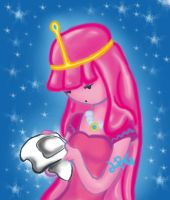 Princess Bubblegum by lia-brisa