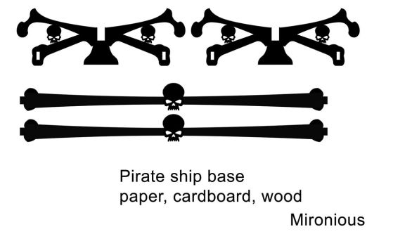 Template Pirate Ship Base by Mironius