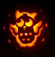 Owl Pumpkin by Kuenai