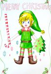 Christmas Elf Link by super-kid-girl