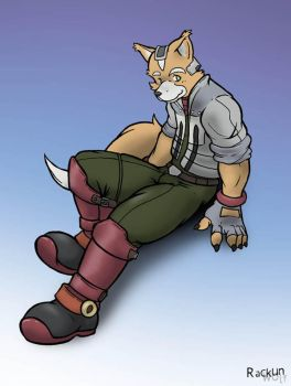 Fox McCloud by Rackun