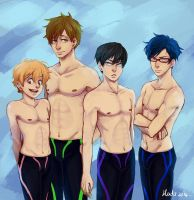 Free! - Iwatobi Swimming Club by msloveless