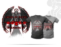 Angel of Death Shirt Designs by Primogenitor34
