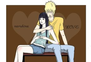 NARUHINA LOVE by isai-chan