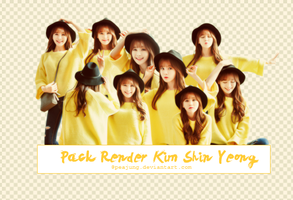Pack Render Kim Shin Yeong #1 by PeaJung