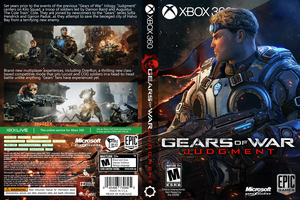Gears of War Judgment Custom Cover by whitehoui
