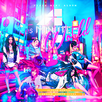 4Minute - 4Minute World (Fan Made Album Cover) by Cre4t1v31