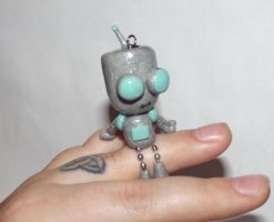 Robot Gir figurine/ ornament by ShadyDarkGirl