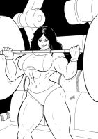 She Hulk GYM by wyattx