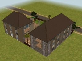 sims 2 apartment n. 4 p. 2 by PeaceInfinityStars