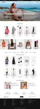 Belle - Clothing and Fashion Shopify Theme by artistsanju