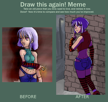 Draw this Again Meme 2! by ryuoku