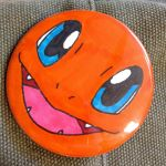 Charmander Button by Champion-Frita