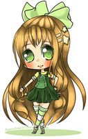 PC Chibi : Creamie Kimmie by AppleRawr27