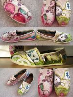 Custom Momocheet and Happi TOMS by lafhaha