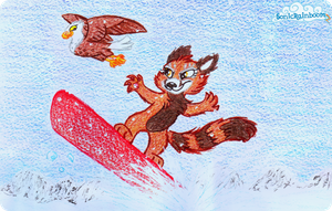 Snow Race. by SRZ-Nuaro