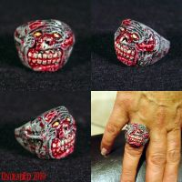 Rot Zombie Ring  ooak jewelry by Undead-Art