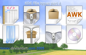 KDE File types 4 by tonev