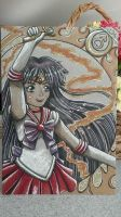 Sailor Mars ~ by moonshadebutterfly