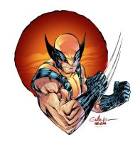 Wolverine - Paris Manga - Gabriel Cassata colors by SpiderGuile