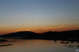 Sunsets Over The Lake by LifeThroughALens84