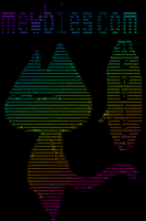 Colorized ASCII on a Linux terminal using lolcat by mewbies