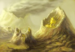 The Sulfur Lands by CBSorgeArtworks