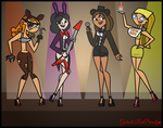 Total Drama Girls as FNAF Characters! by Galactic-Red-Beauty