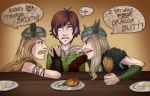 HTTYD - Twiccup Fight by MidoriEyes